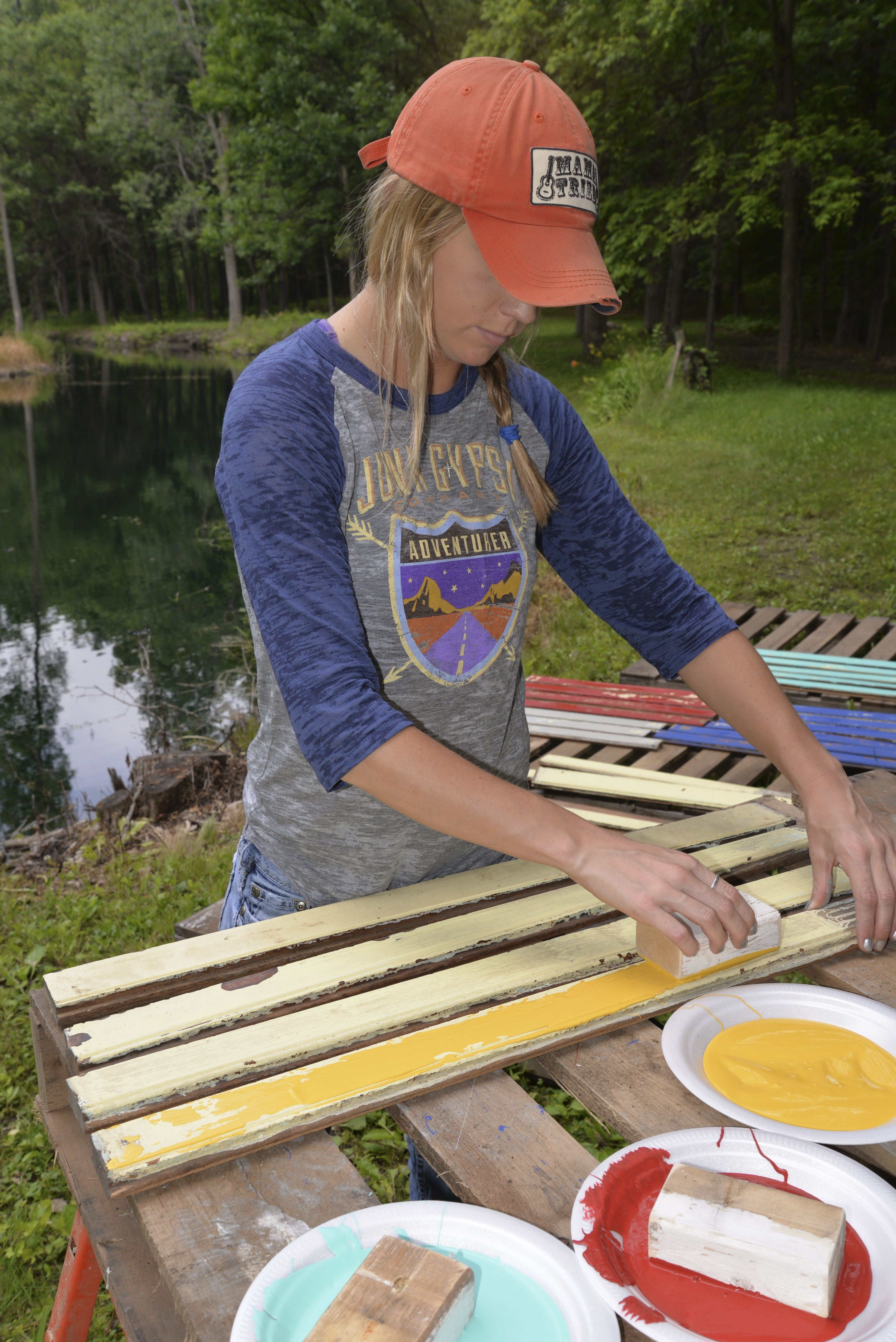 Junk Gypsy Paint Custom Salvage Boat Wood Finish