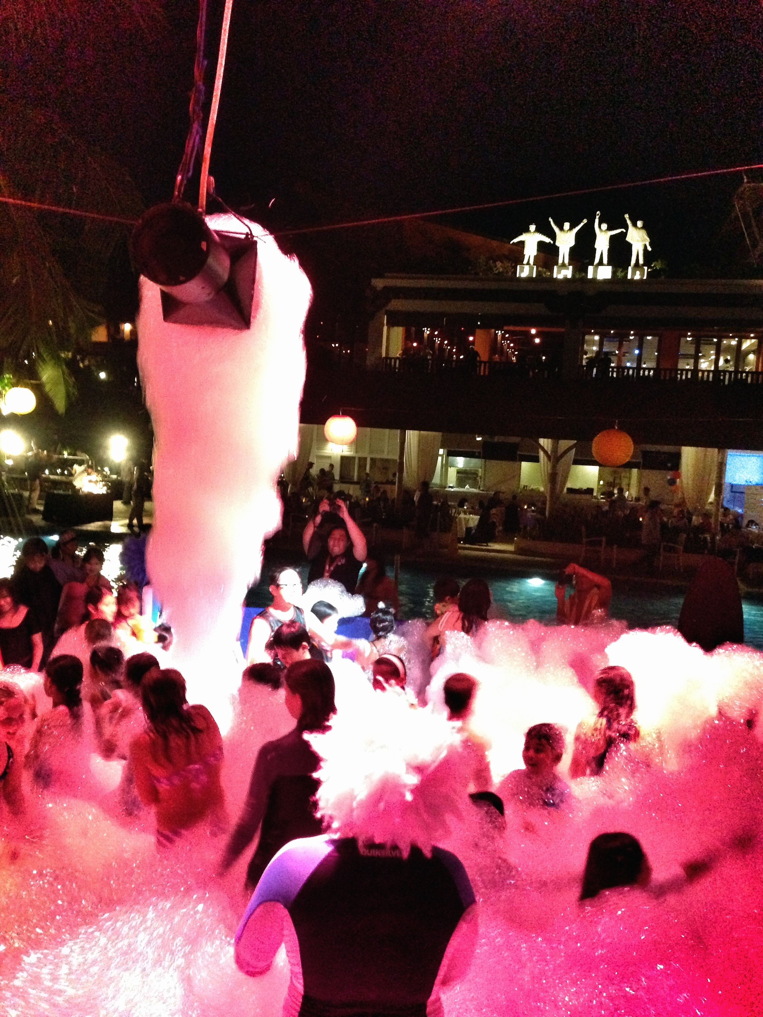 Foam Party  Hard Rock Hotel Bali