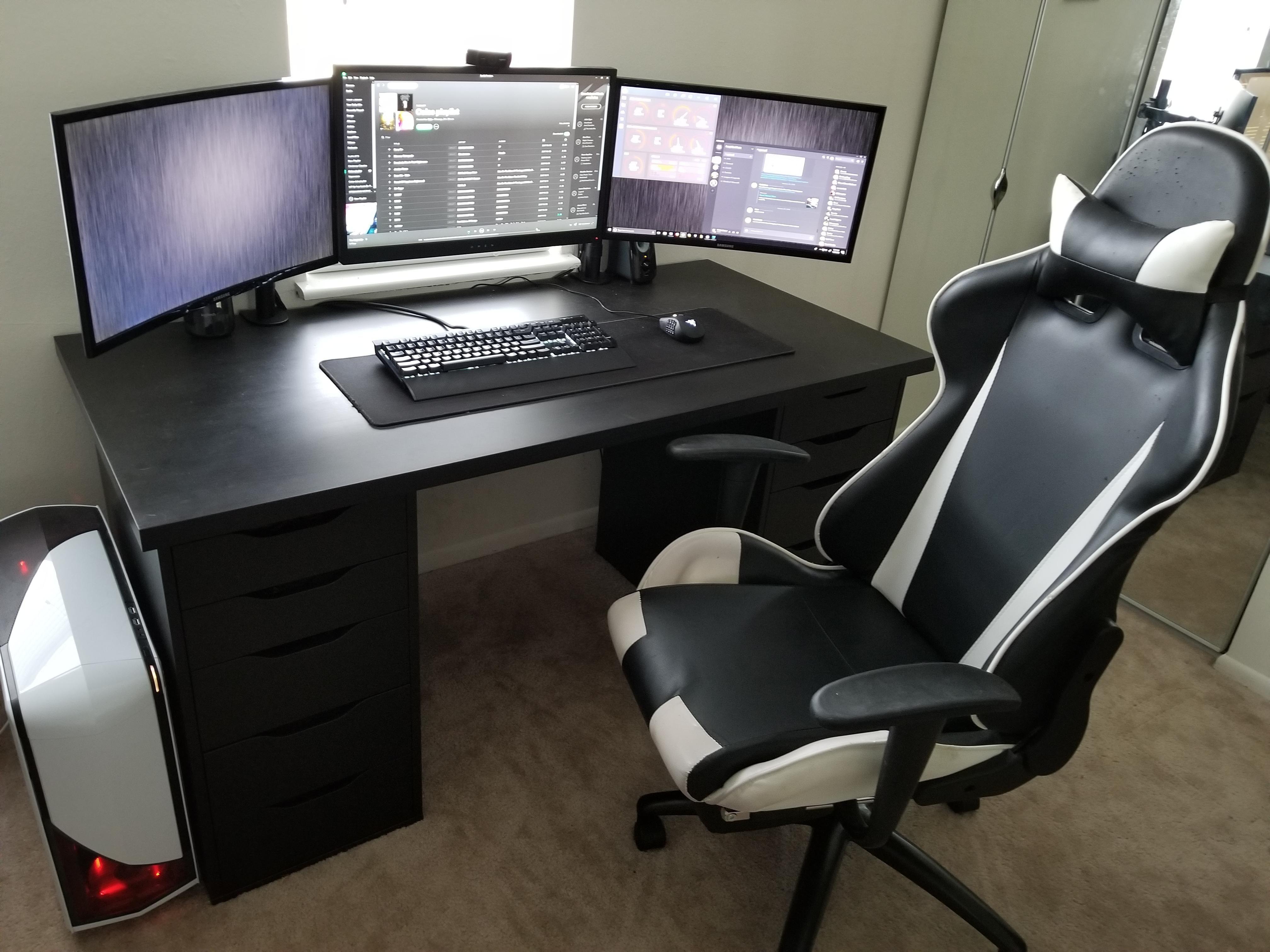 Http Ift Tt 2dq9gdk Post On Reddit Suggestions Welcome Desk Set Smart Home Design Office Desk Set