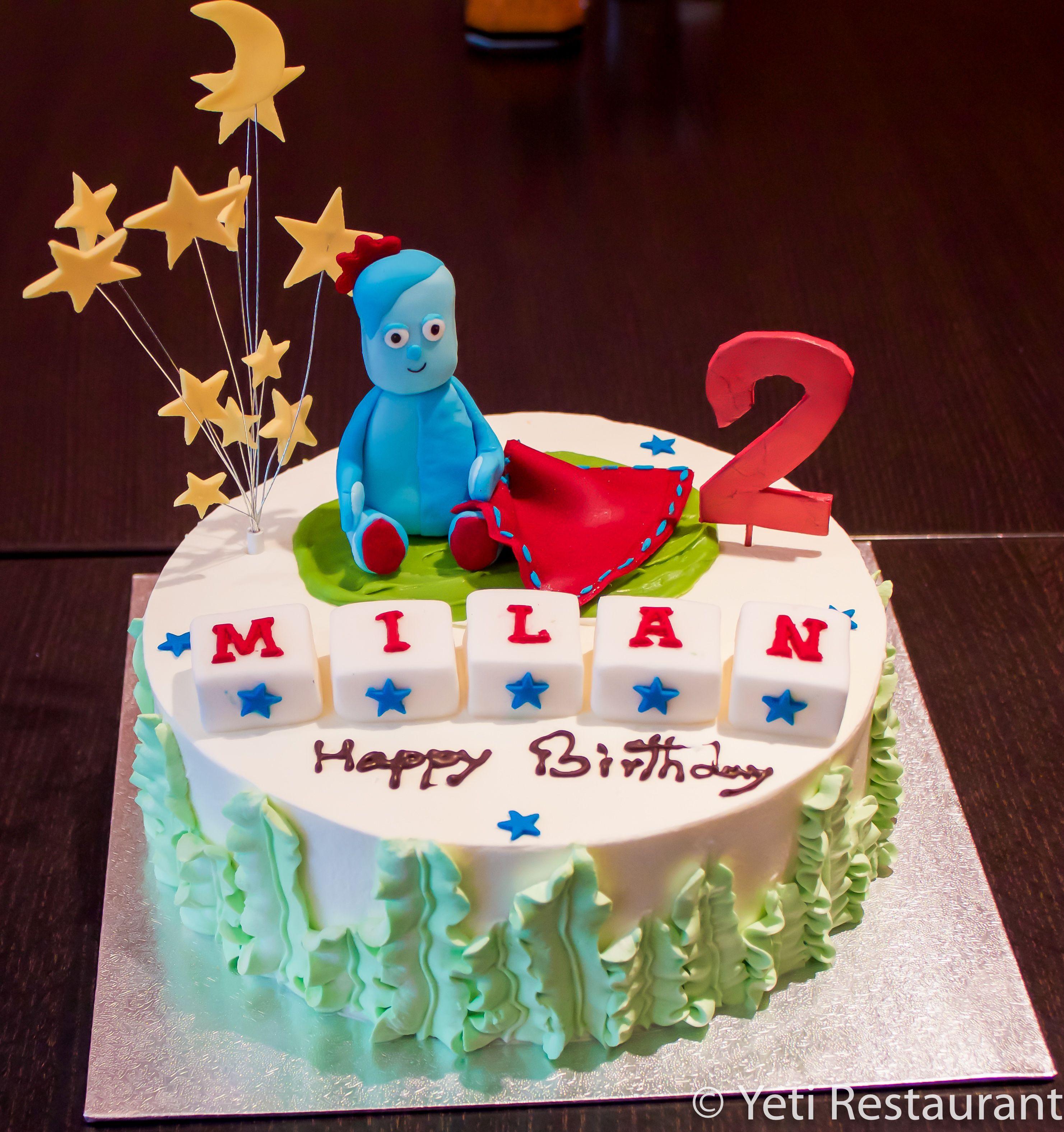 Iggle Piggle Cake Fresh Cream Cake In The Night Garden Theme Marriage Anniversary Cake 50th Anniversary Cakes Cake