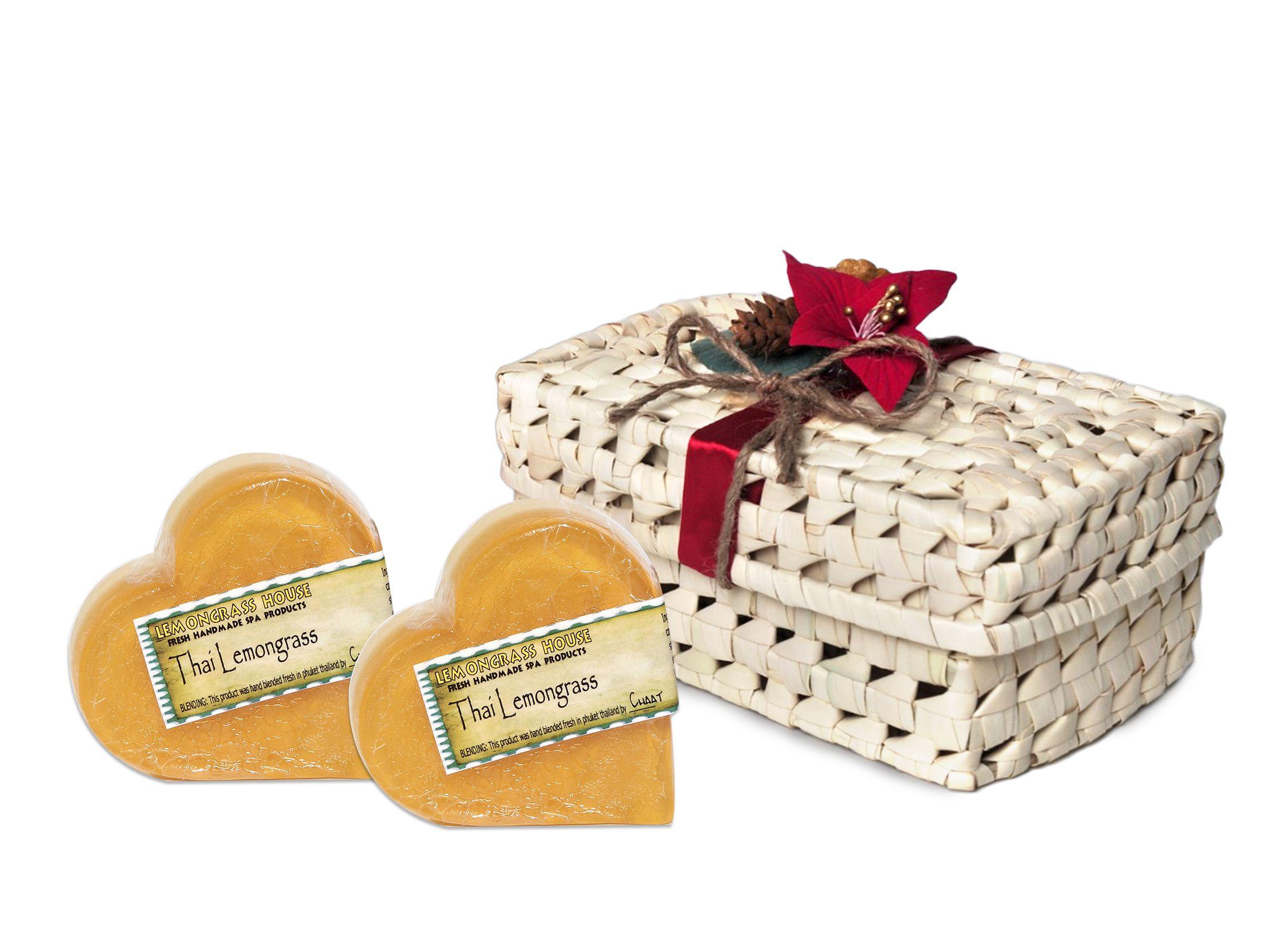 This Christmas gift set includes Two Thai Lemongrass