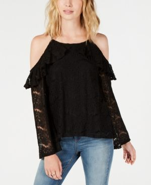 A.Dasher Women T-Shirt Top with Off Shoulder and 7//8 Sleeves