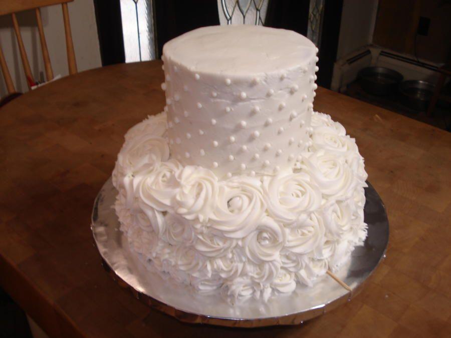 Small Wedding Cake by Chris Jones - http://cakesdecor.com/cakes ...