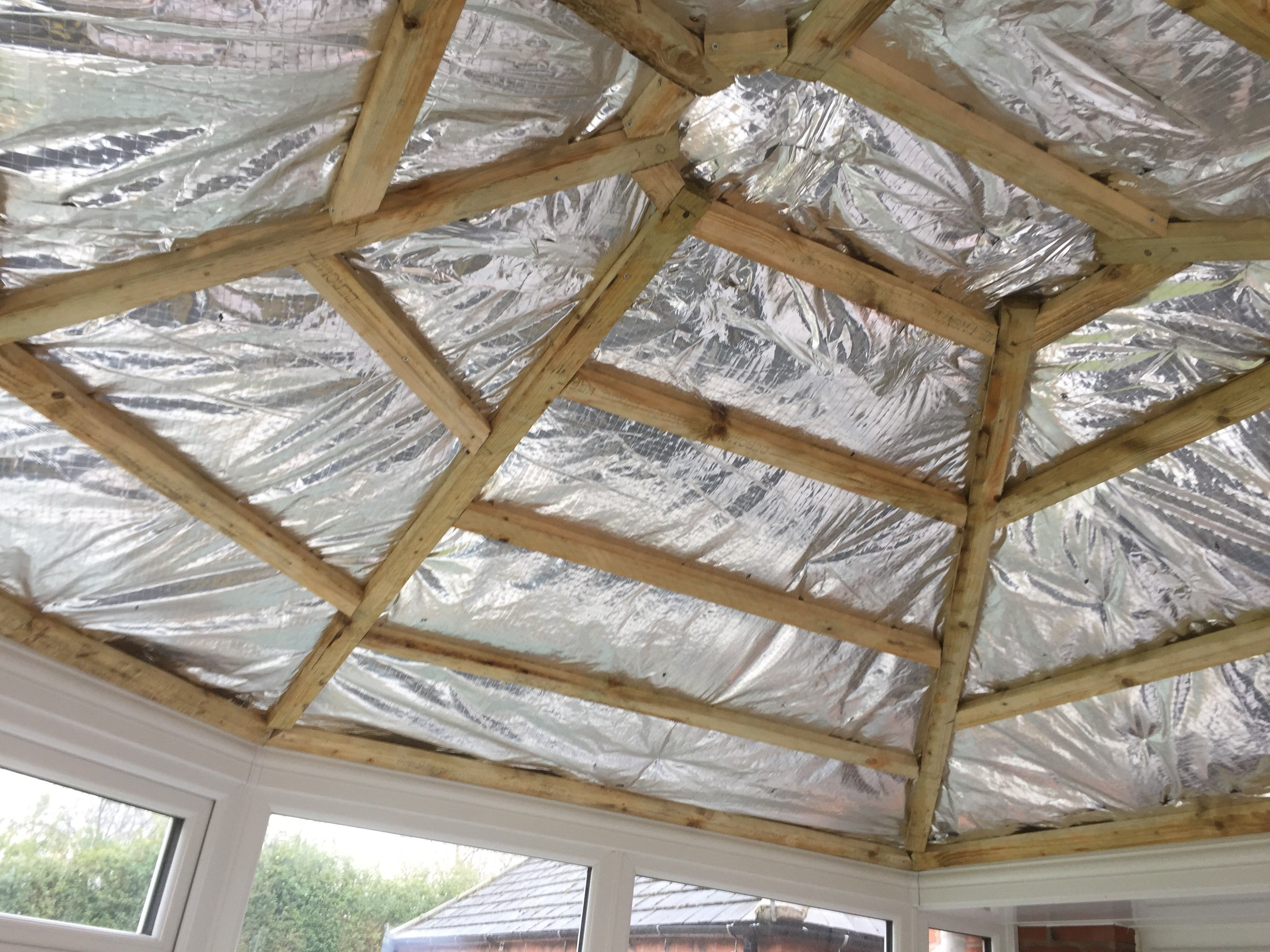Pin By Krismarwood On Garden In 2020 With Images Aluminum Roof Panels Roof Panels Conservatory Roof