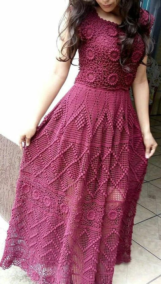 39+ Awesome Free Crochet Summer Dresses Pattern Ideas for This Year - Page 12 of 39 - Daily Crochet! #crochetdress