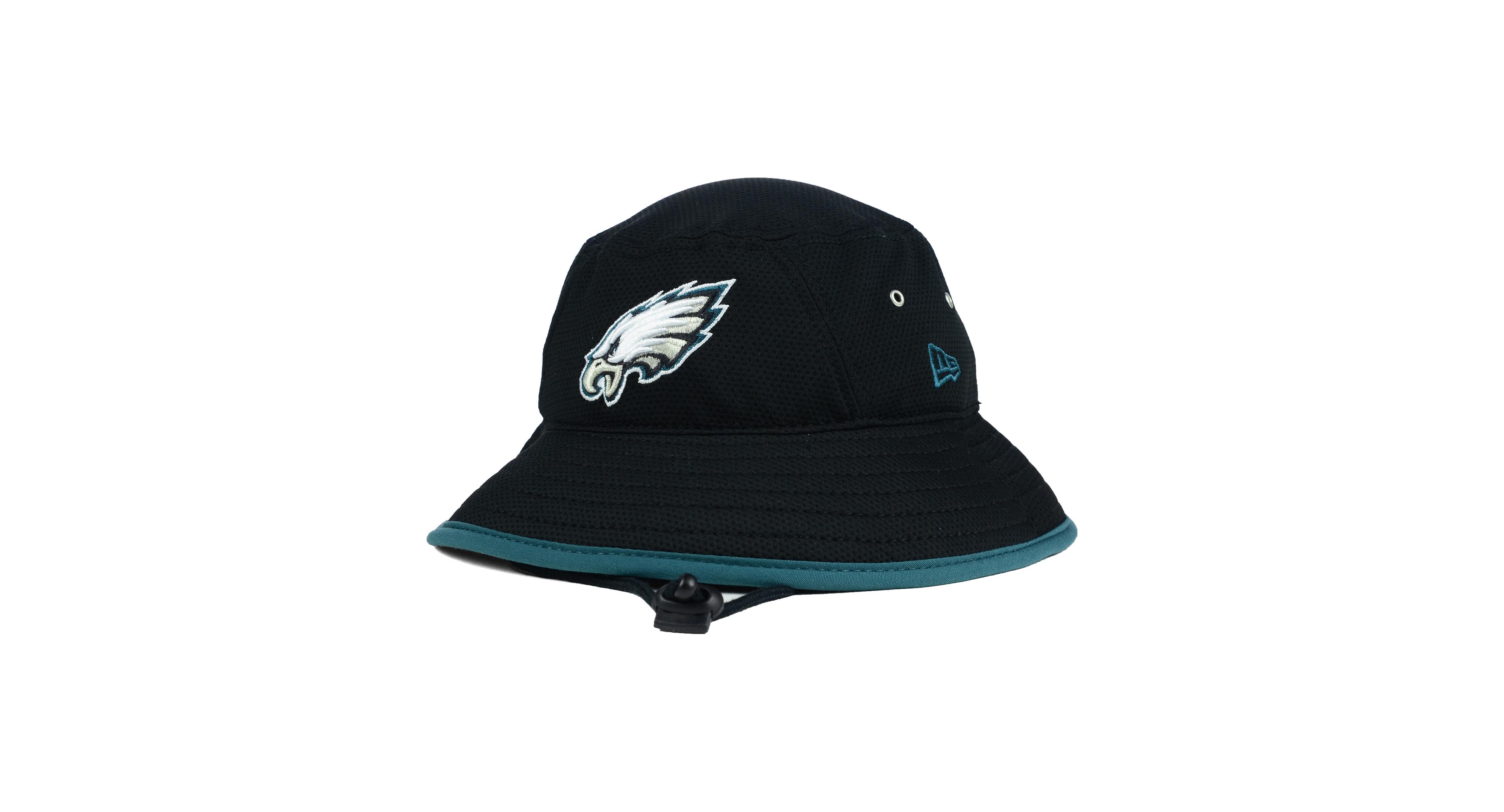 New Era Philadelphia Eagles Training Bucket Hat  a453fa334626