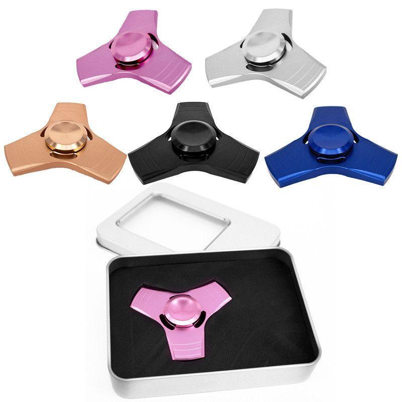 New Creative Fid Spinner Hand Spinner Desk Anti Stress Finger