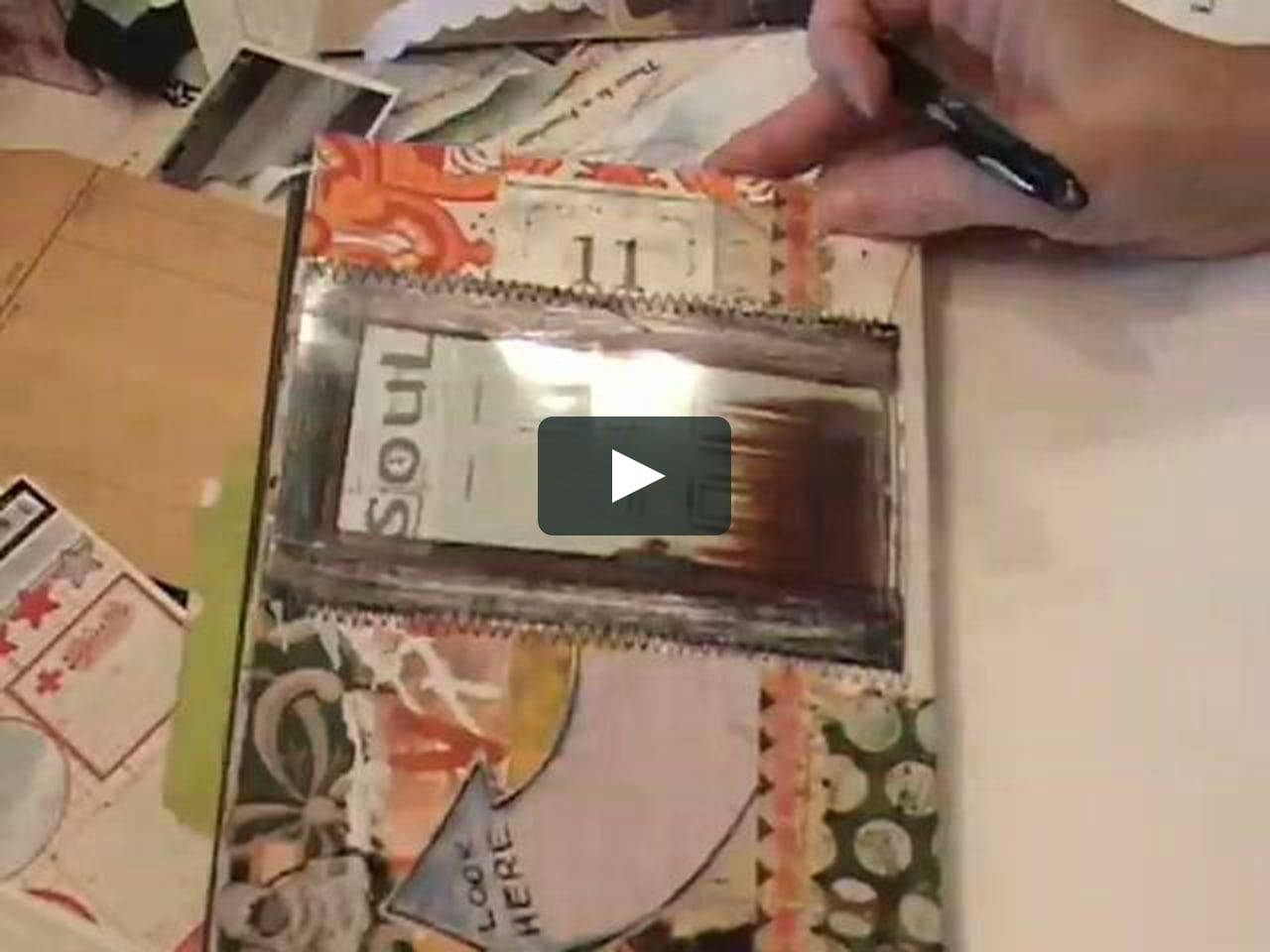 How To Make Altered Art Envelopes With File Folders