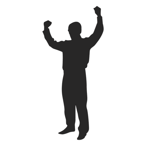 Man Raising Hands Ad Sponsored Ad Hands Raising Man Silhouette Png Graphic Image Human Silhouette