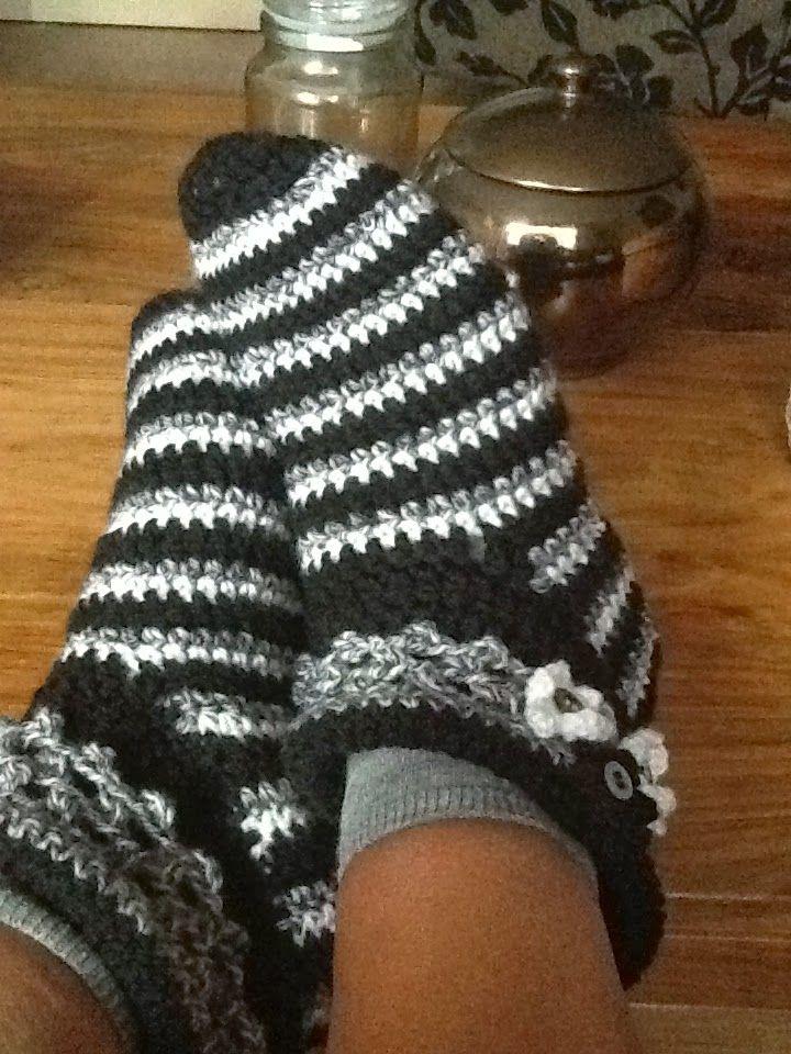 Haken Pantoffels Gehaakte Sloffen Warme Sloffen Garnstudio