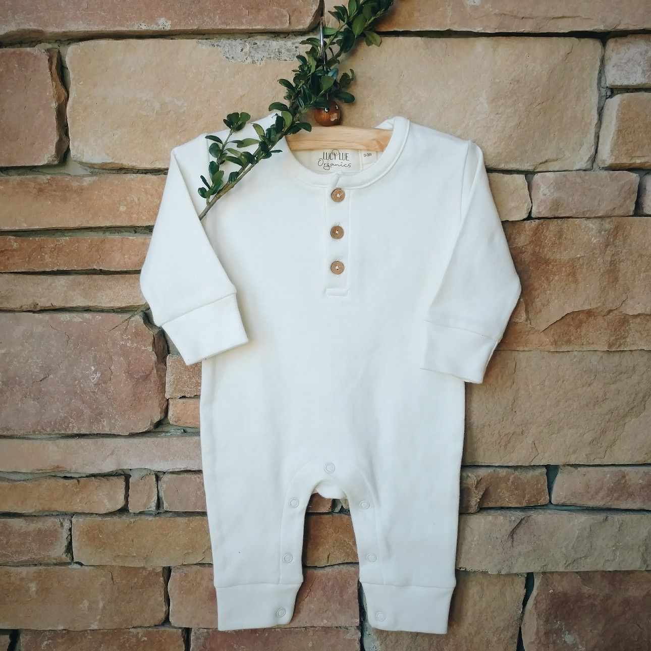 47837f970 The softest organic cotton romper for your little mini. Shop Lucy ...