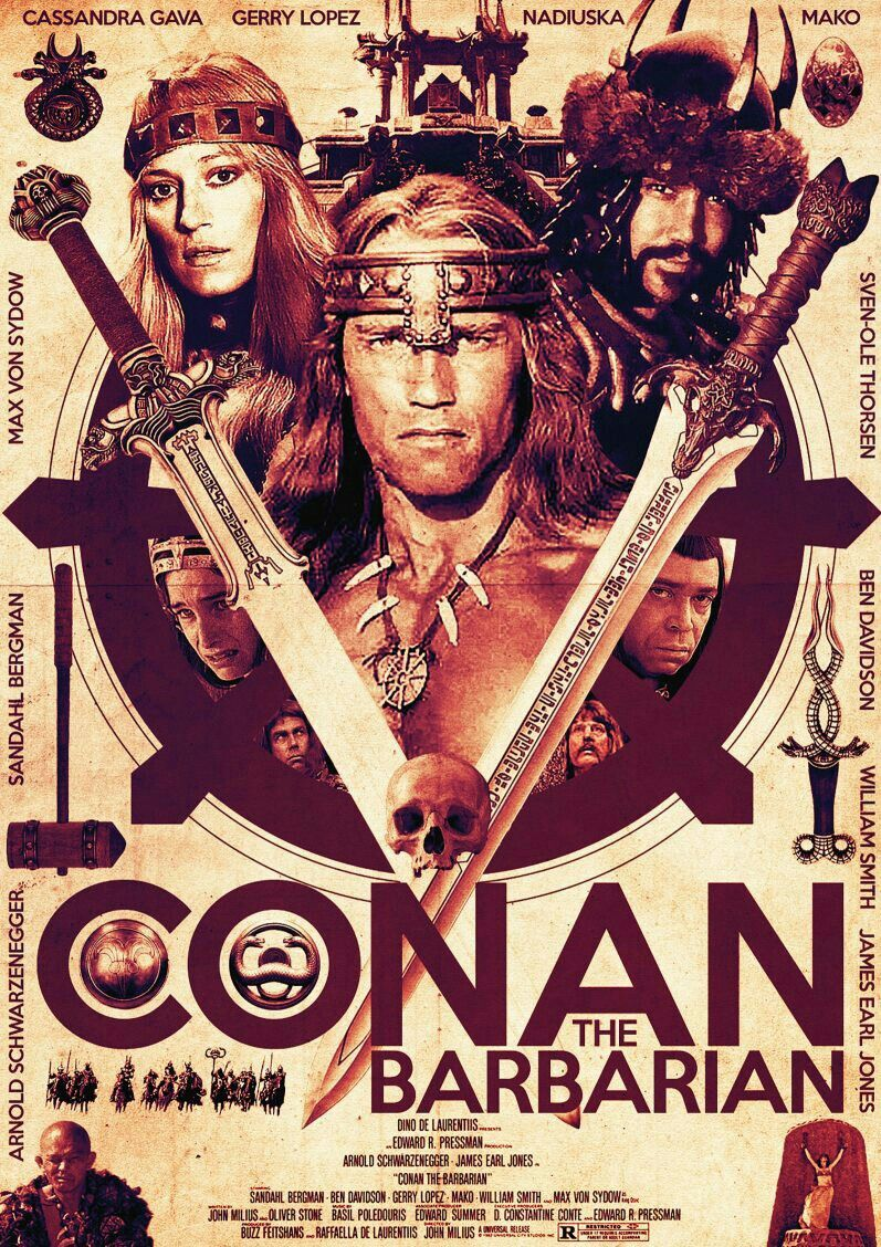 Conan The Barbarian Conan The Barbarian Conan The Barbarian Movie Barbarian