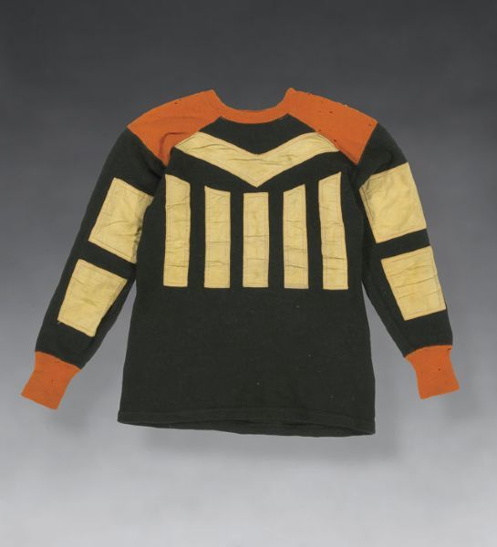 1920s Friction Strip Football Jersey 1 560 American Football Clothing And Equipment Vintage Football Vintage Sportswear