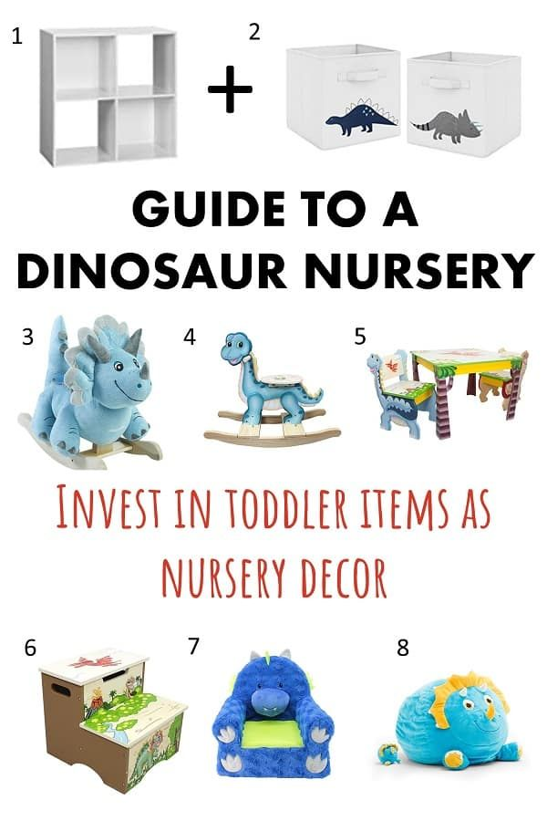 Guide to Creating the Ultimate Dinosaur Themed Nursery
