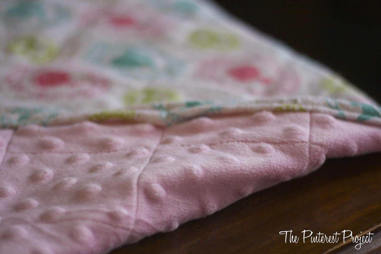 The Pinterest Project An Easy Baby (or Doll) Blanket