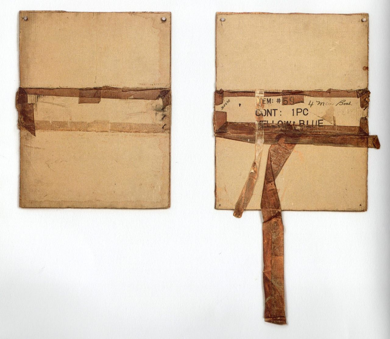 Robert Rauschenberg, 'Smash Up (Cardboard)' (1971)
