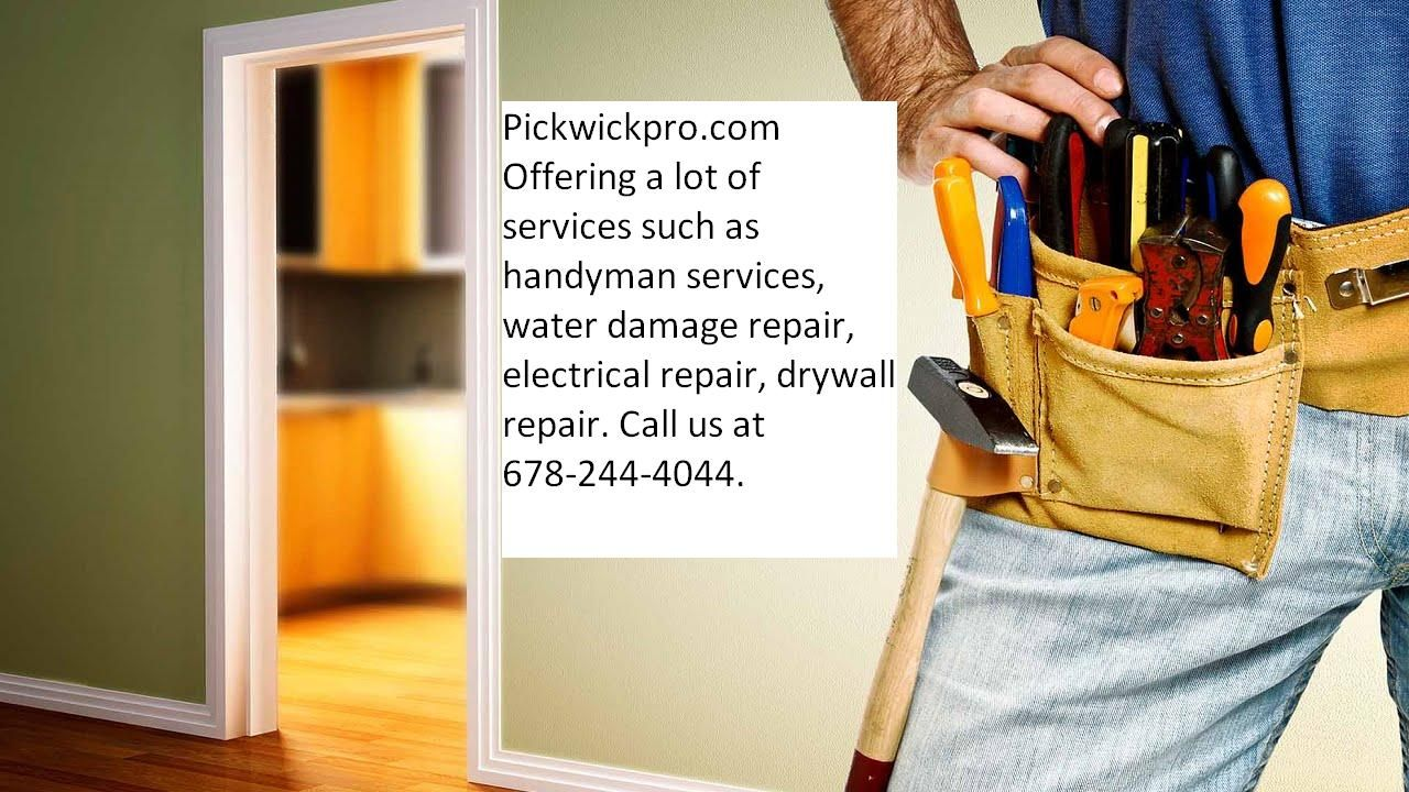 Serving residential and commercial clients in Atlanta GA. From home repairs to complete remodeling and more, there's no job small and large for us. pickwickpro.com/