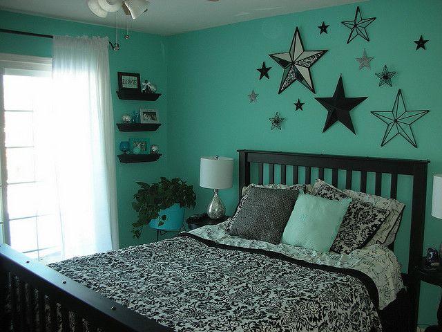 Aqua Bedroom Teenage Girl Bedroom Decor Turquoise Room Teal Bedroom