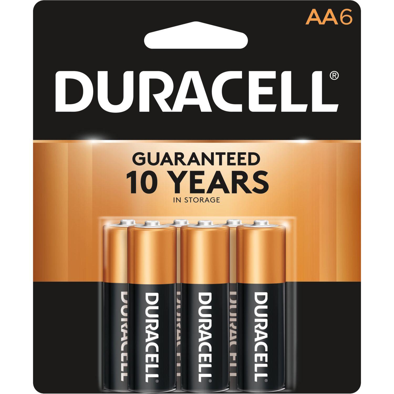 Duracell Coppertop Aa Alkaline Batteries 6 Pk Carded Duracell Alkaline Battery Duracell Batteries