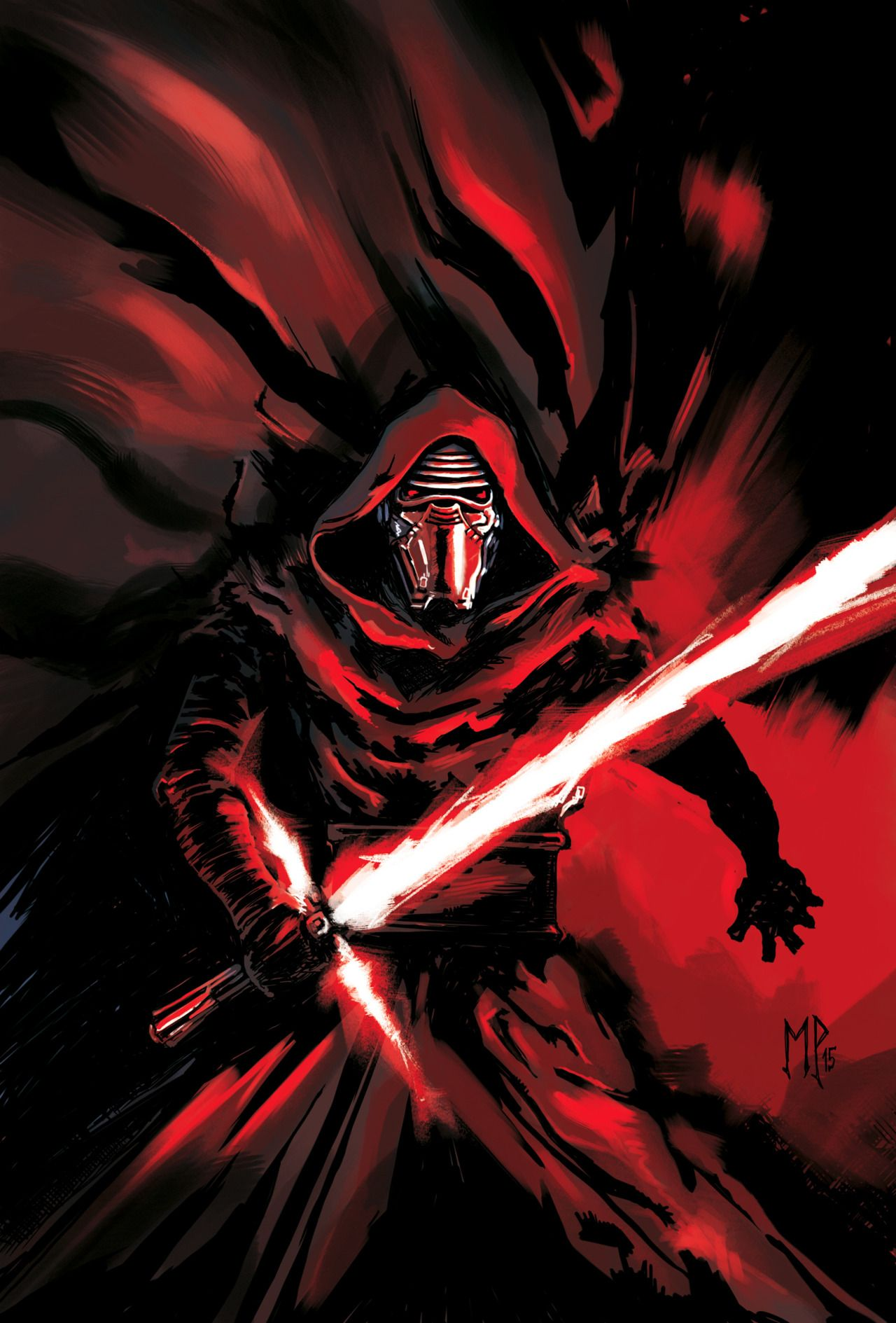 Kylo Ren by MarcoPagnotta The Way of the Force Pinterest