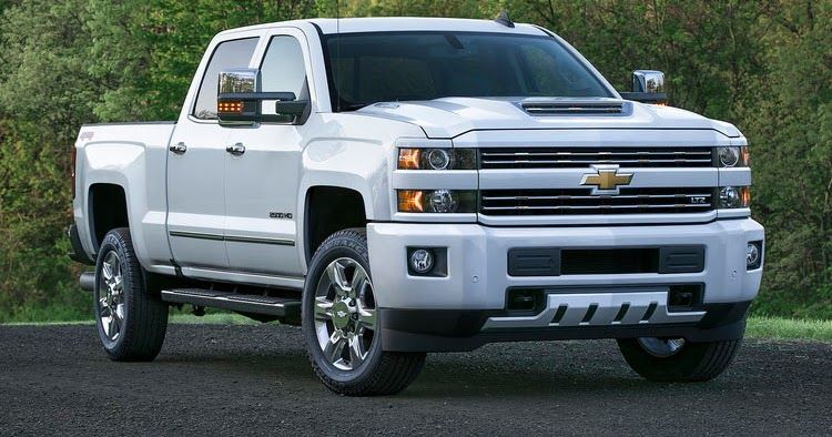 2017 Chevy Silverado HD Trucks Getting New Air Intake System & Hood