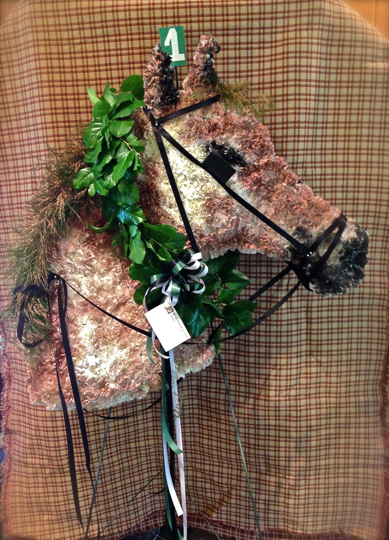 Custom funeral flowers horse sculpture horse made from flowers custom funeral flowers horse sculpture horse made from flowers funeral specialty piece theloftflorist izmirmasajfo
