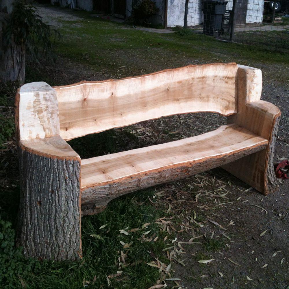 log bench pinteres