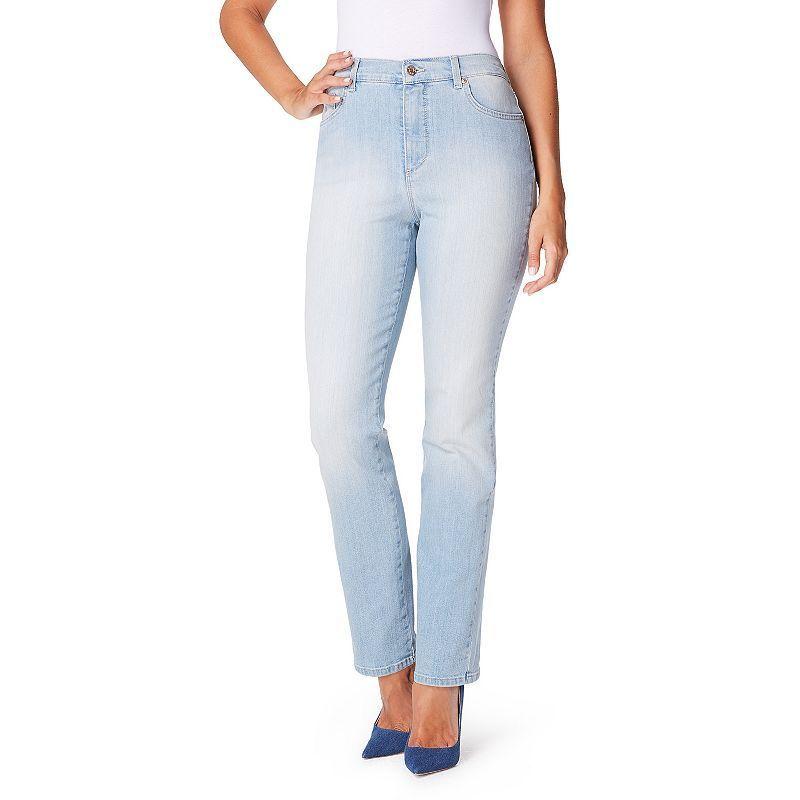 Women's Gloria Vanderbilt Amanda Classic Tapered Jeans, Size: 12 Avg/Reg, Med Blue