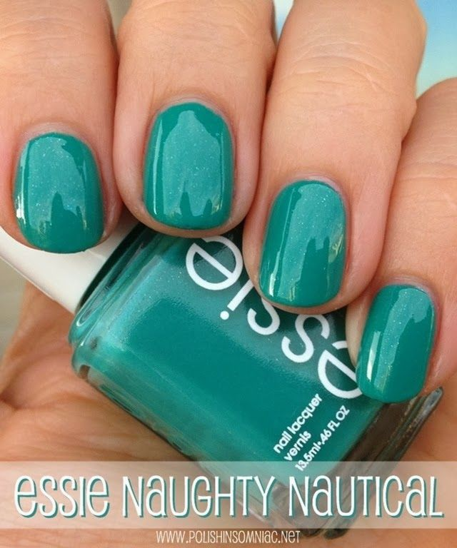 My Current NOTD: Essie Naughty Nautical | Makeup, Nail nail and Mani ...