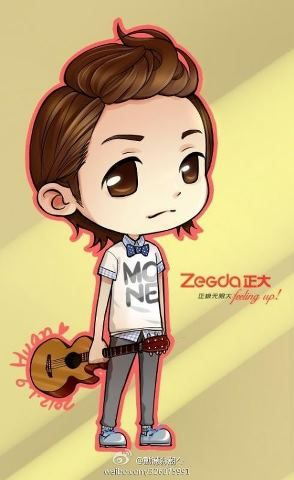 jang keun suk with guitar