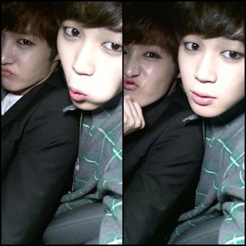 Jimin and J-Hope~