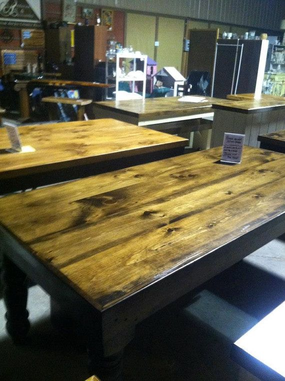 Hand Crafted Farm Tables In Nashville TN By ModernRusticChic, $799.00