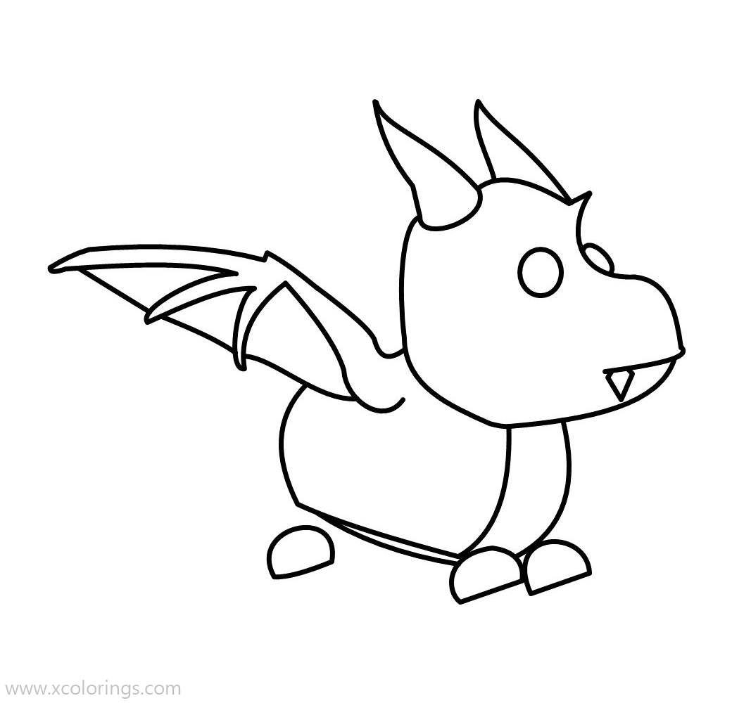 Adopt Me Coloring Pages Dragon Pets Drawing Avengers Coloring Pages Coloring Pages
