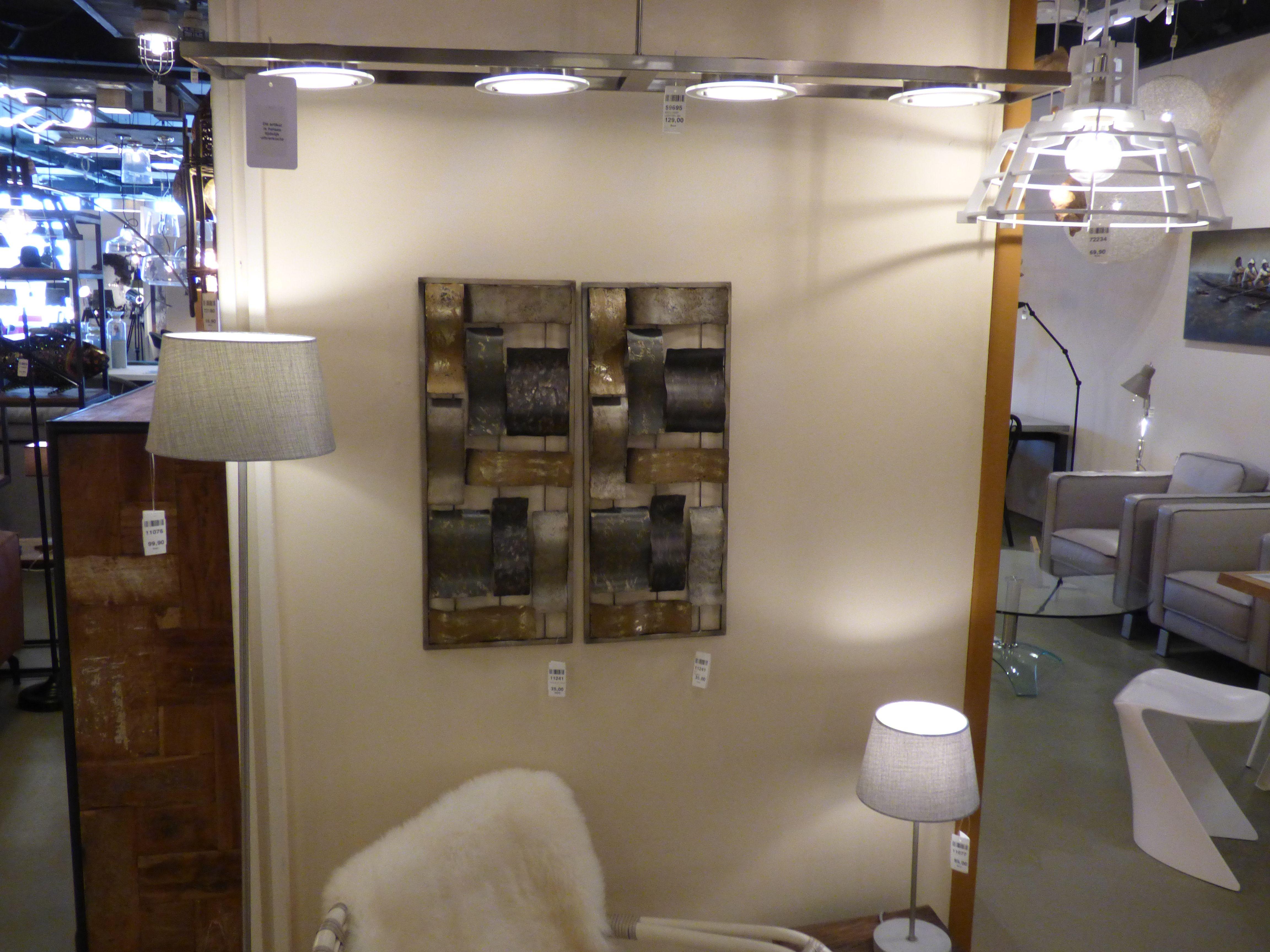 wanddecoratie schilderij showroom foto wanddecoratie of verlichting ...