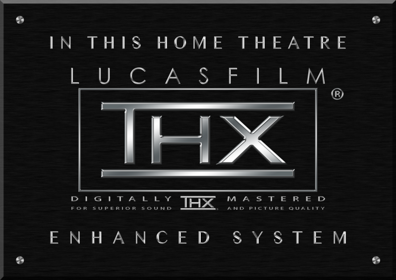 High Resolution Image Of Thx Logo With Lucasfilm And Enhanced System Logos Home Theater Day Lewis