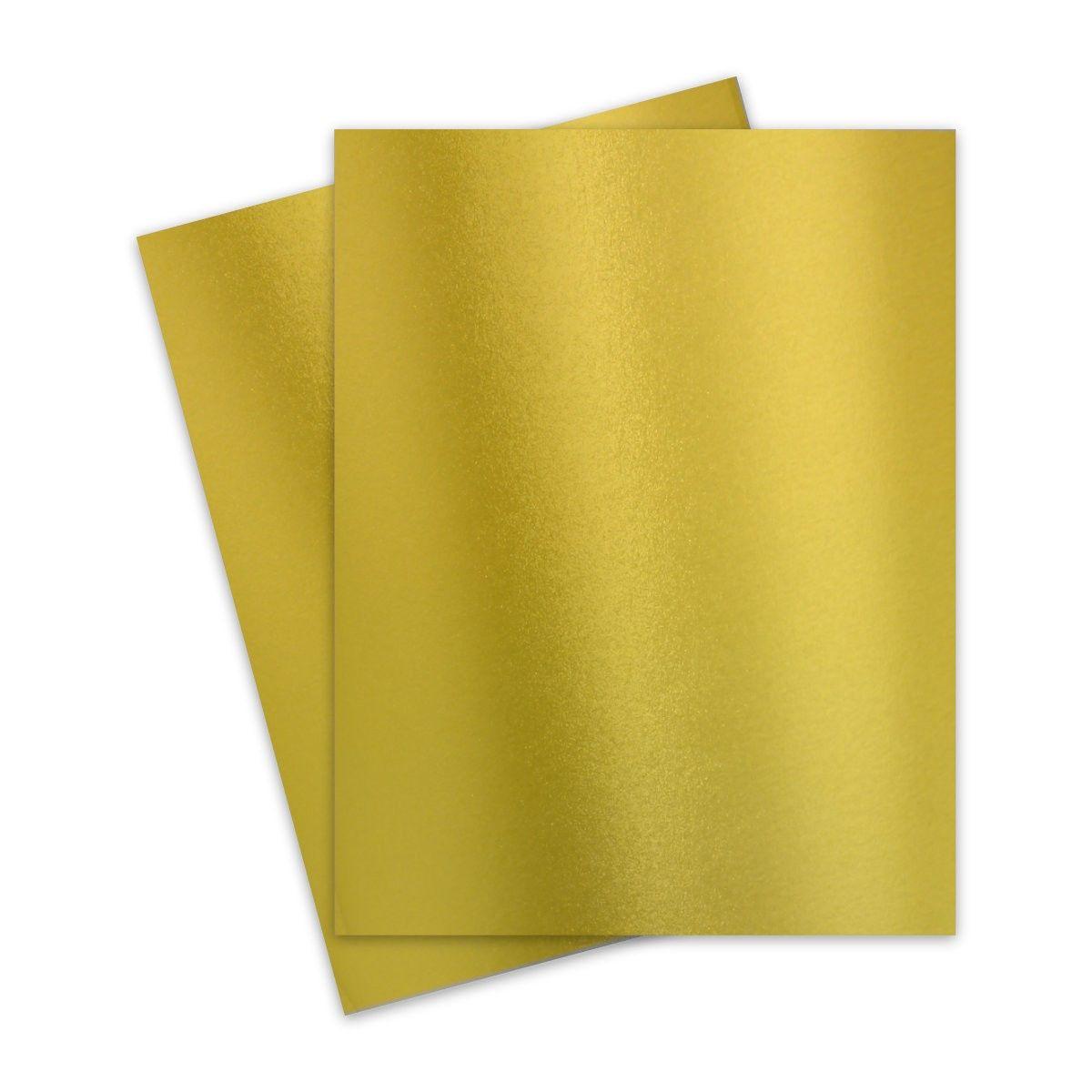 Fav Shimmer Premium Gold 8 5 X 11 Card Stock Paper 92lb Cover 250gsm 25 Pk In 2021 Metallic Paper Cardstock Paper Paper