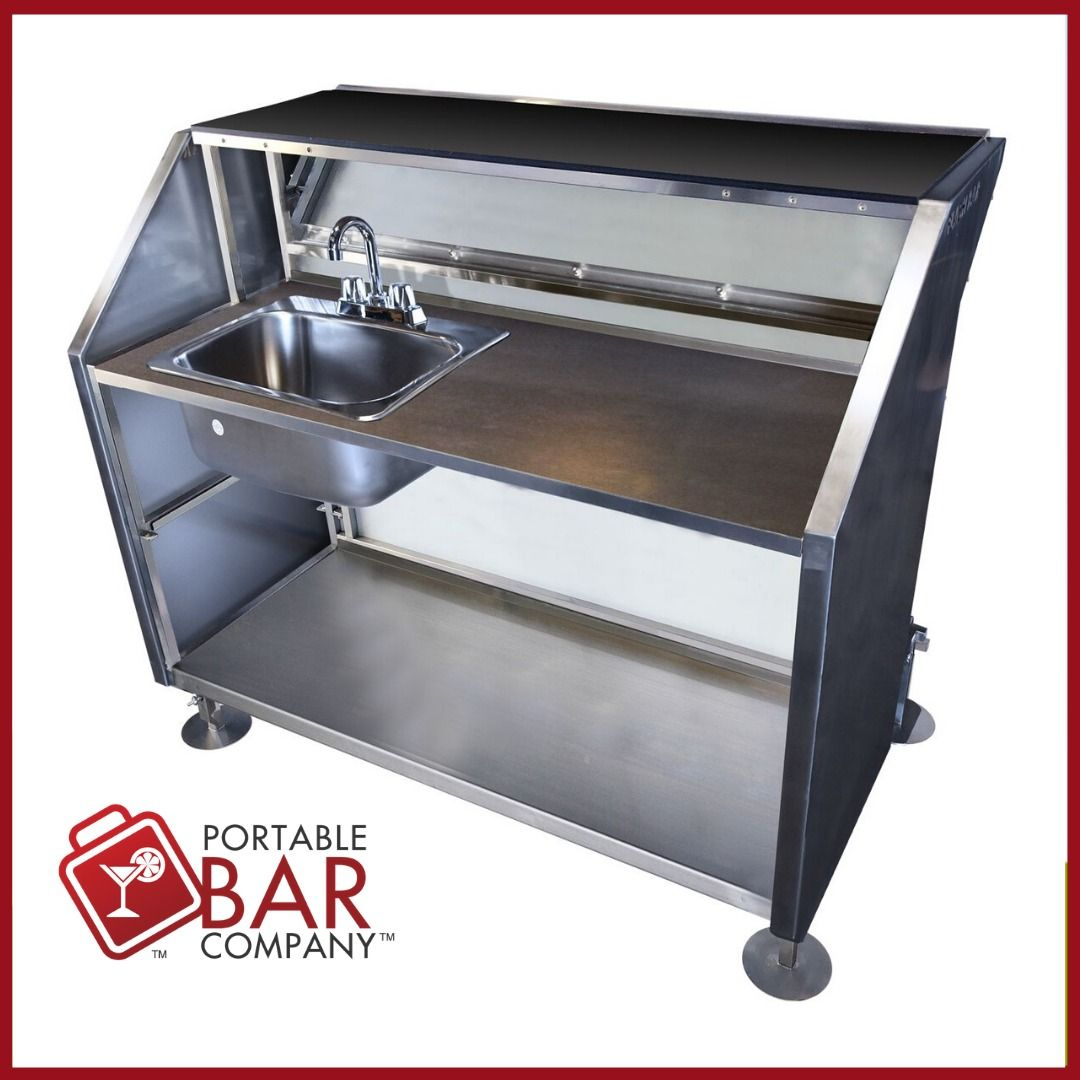 Industrial Grade Stainless Steel Equipment In 2020 Portable Bar Ice Storage Portable
