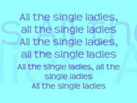 single ladies lyrics