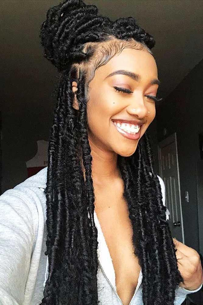 Naturalhair In 2020 Faux Locs Hairstyles Locs Hairstyles Box Braids Hairstyles