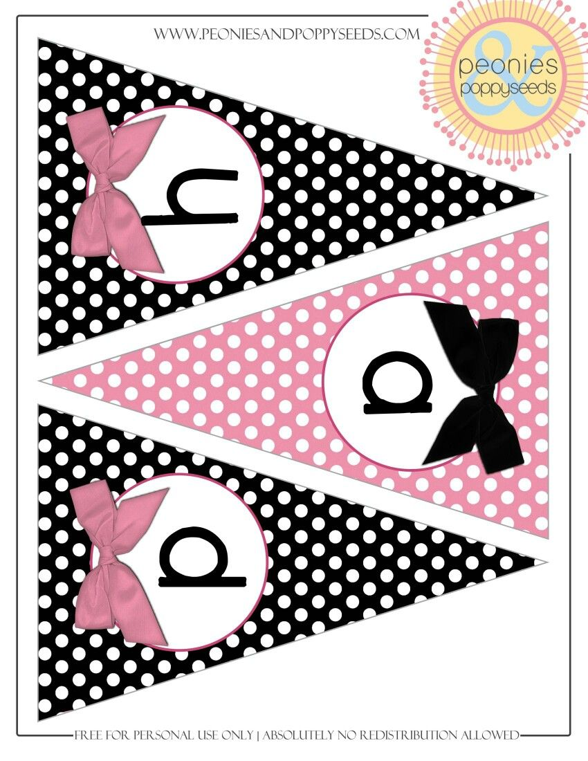 Bandera Minnie Mickey E Minnie Iv Pinterest