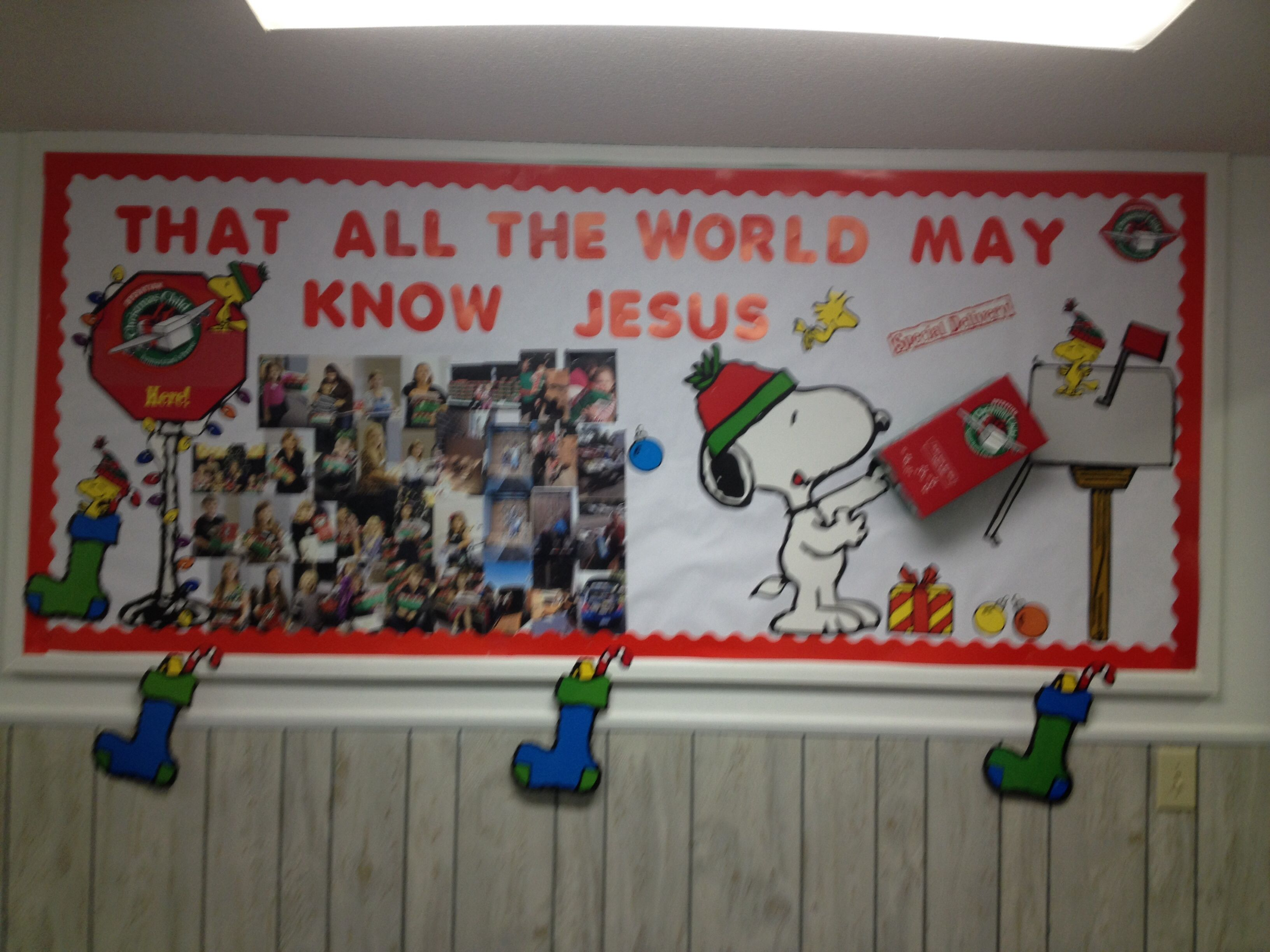 Sharing the love of Jesus all around the world with operation