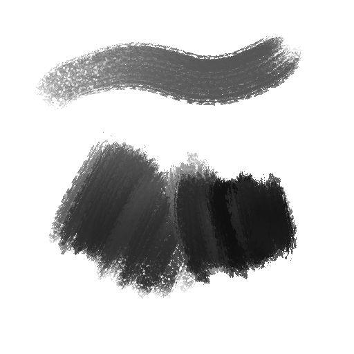Crosshatching and DAUB Brushes - YouTube
