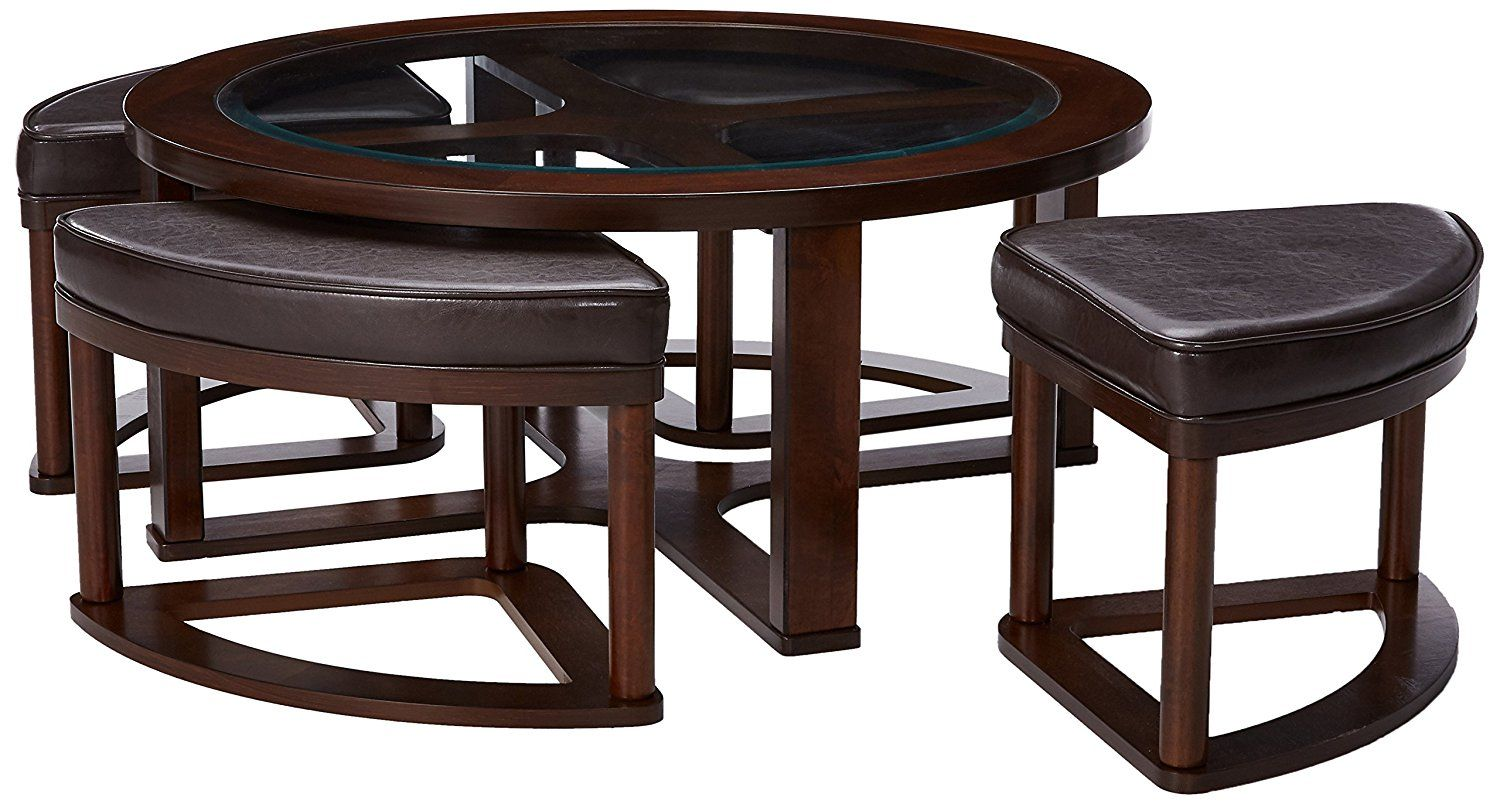 20 Coffee Tables With Seating Underneath