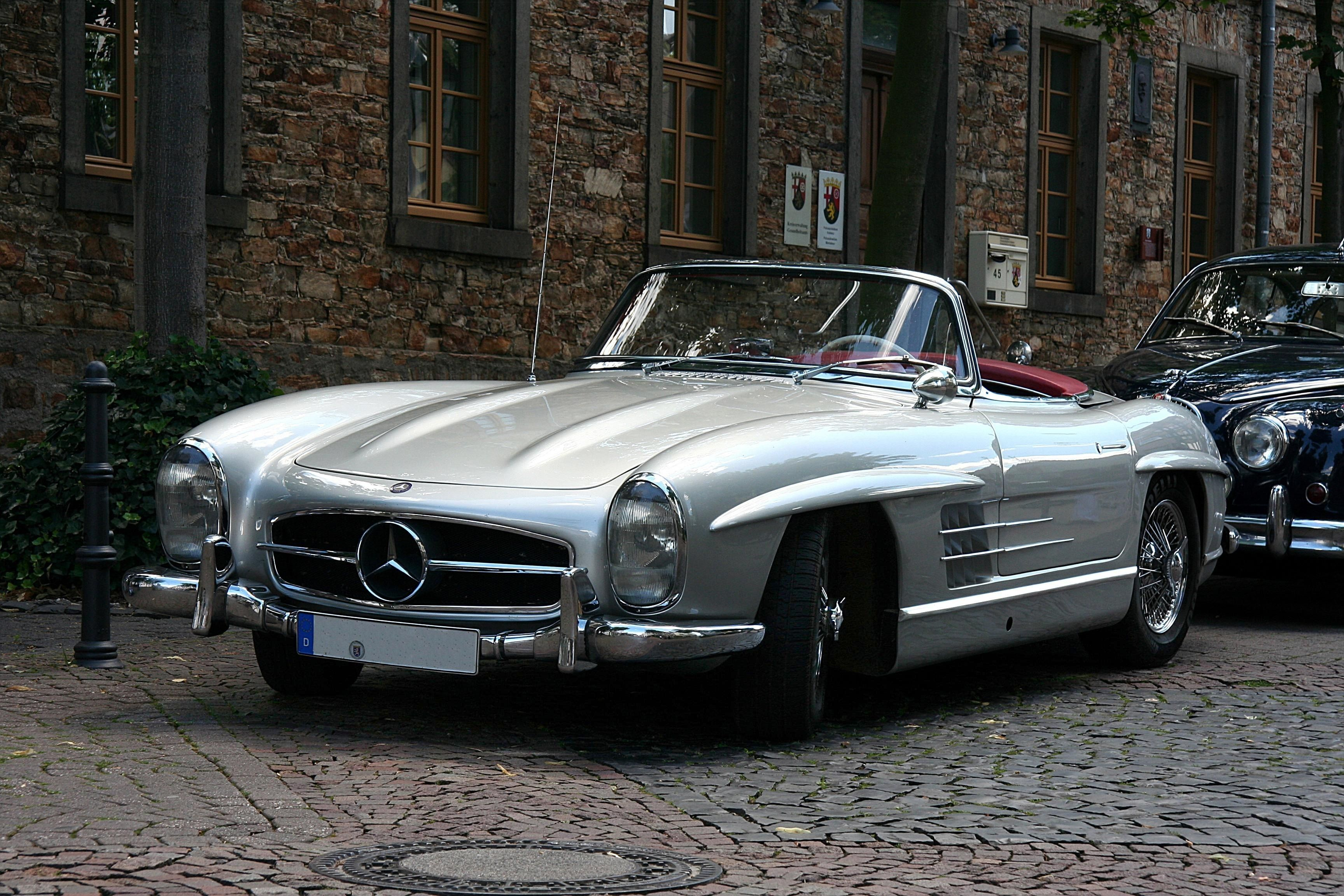 mercedes benz 300 sl roadster the open road pinterest