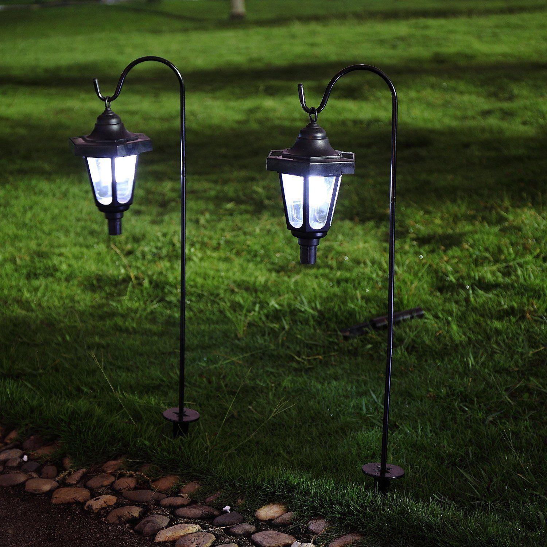 Ohuhu Solar Garden Light Solar Powered Led Lantern Light For Gardening Outdoor Patio Path Solar Landscape Lighting Solar Lights Garden Outdoor Patio Lights