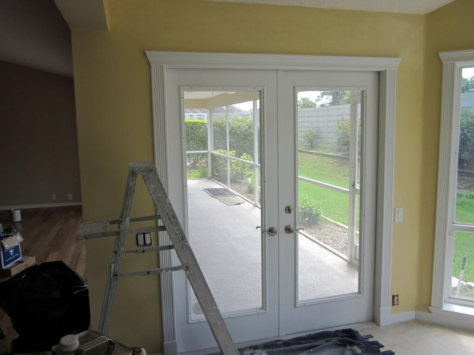 patio door trim molding patio decor pinterest door trims