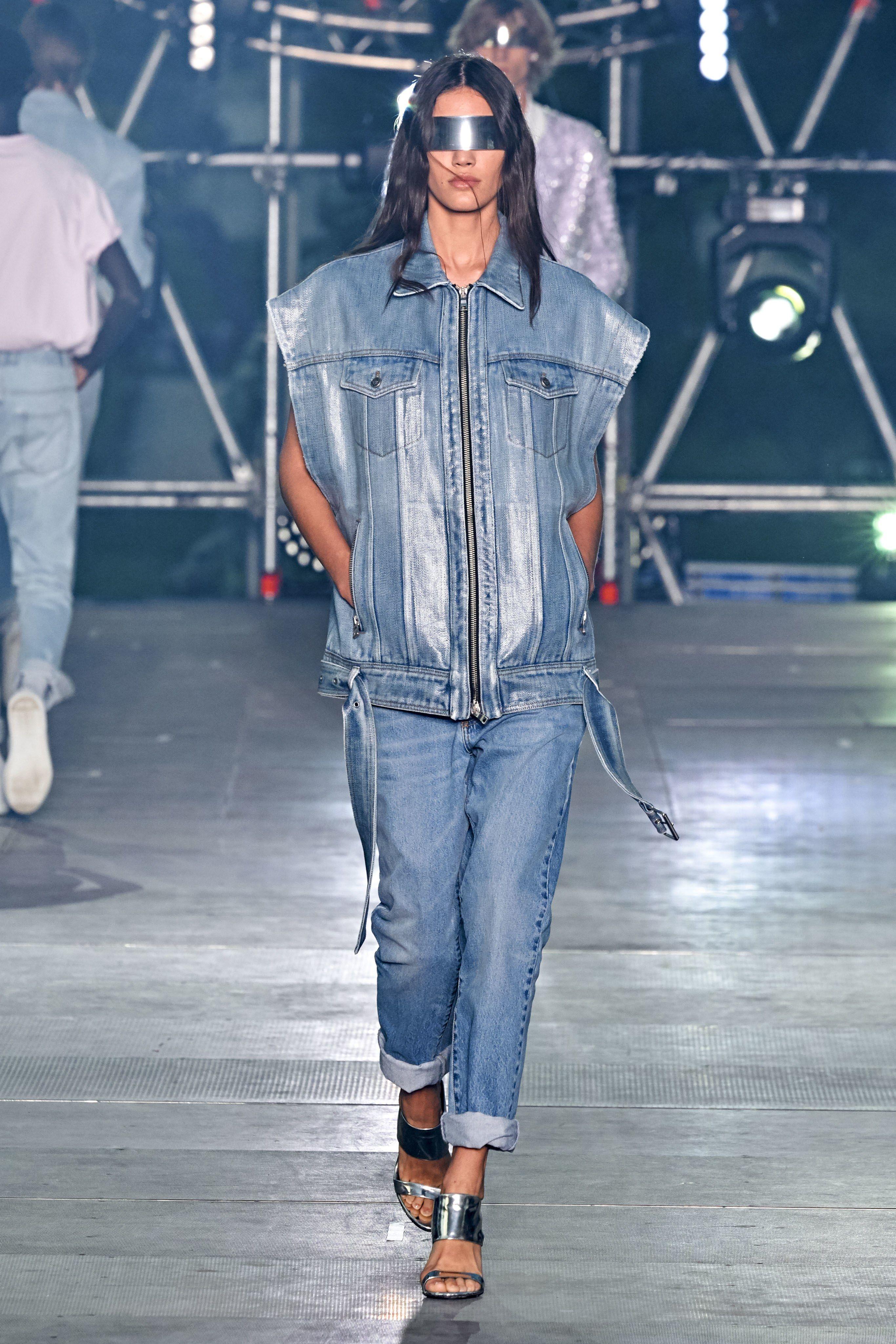 Denim Trends Spring 2020.Balmain Spring 2020 Menswear Fashion Show In 2019 Fashion