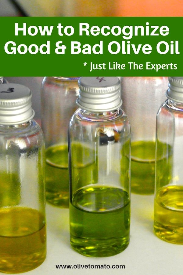 How to Recognize Good and Bad Olive Oil