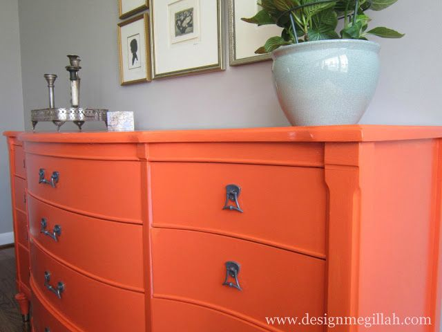 New Painted Credenza Cabinets