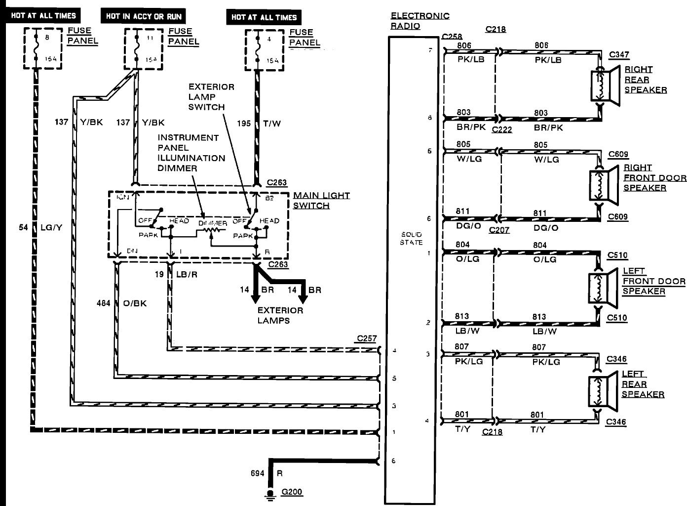 Ford Focus Wire Diagram